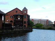 Approaching Wigan Pier and The Orwell