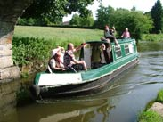 Pirates on a narrowboat
