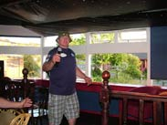 Alan, the first on the karaoke