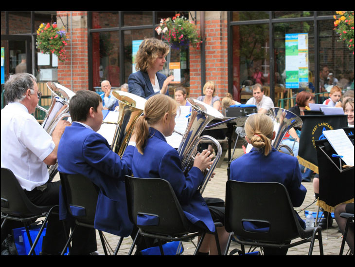 West Lancs Youth Brass Band