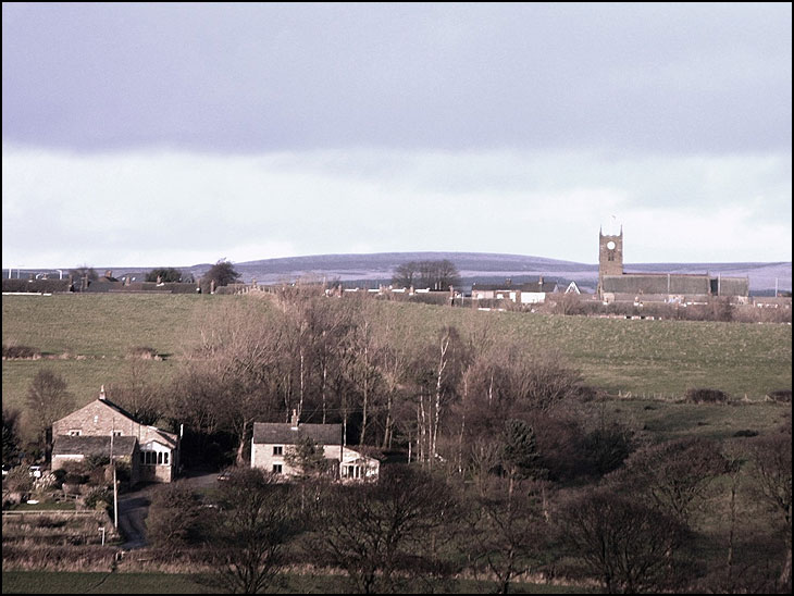 Blackrod  Church from Haigh
