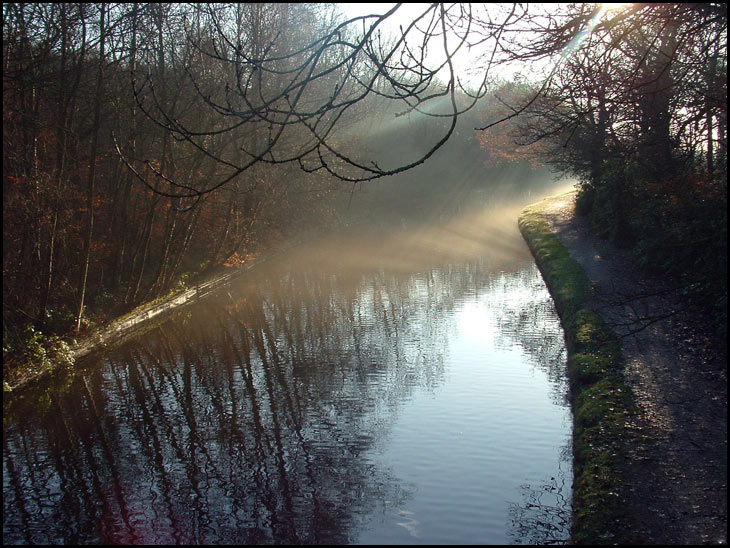 Canal in the morning