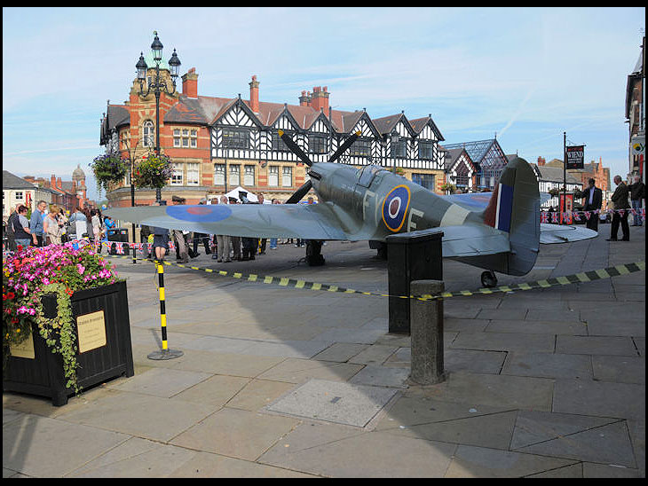 Wigan remembers the Battle of Britain