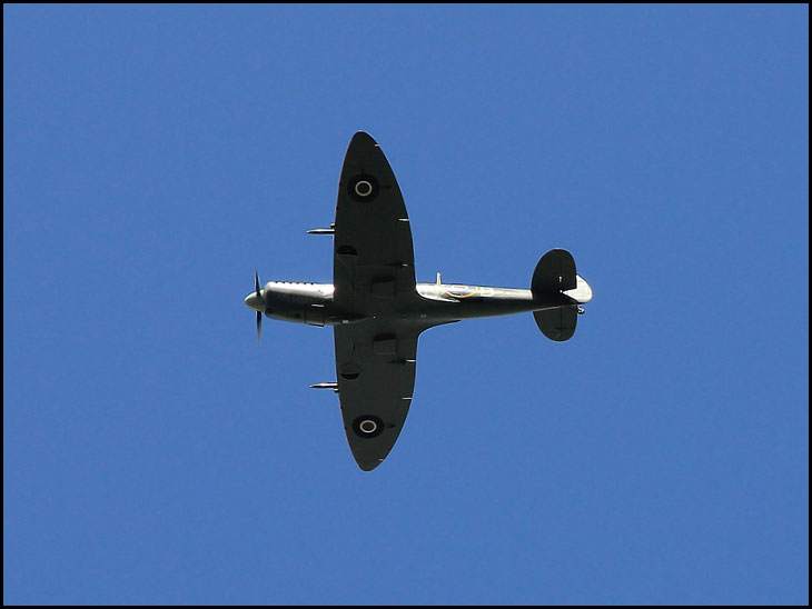 Spitfire Over Standish