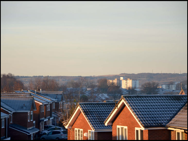 Frosty Rooftops