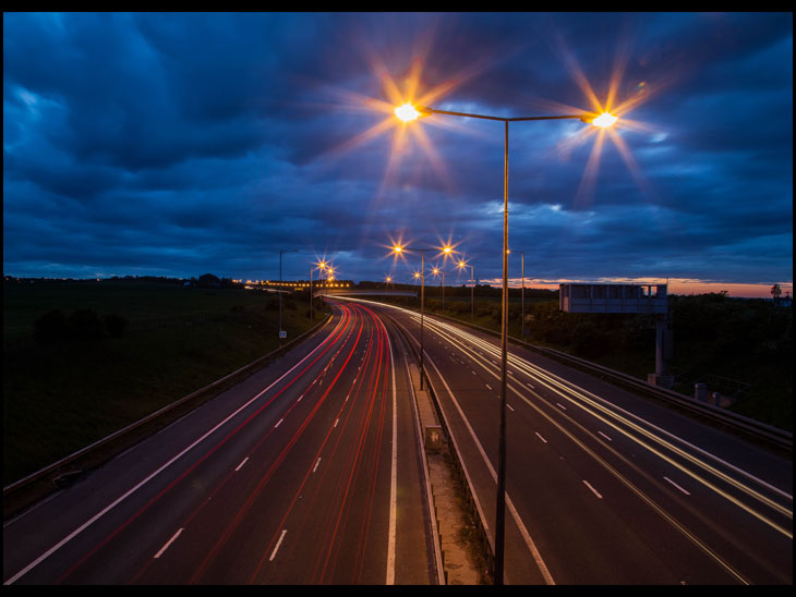 M6 Light Trails