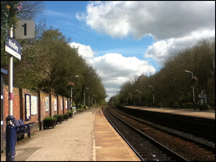 Hindley Station