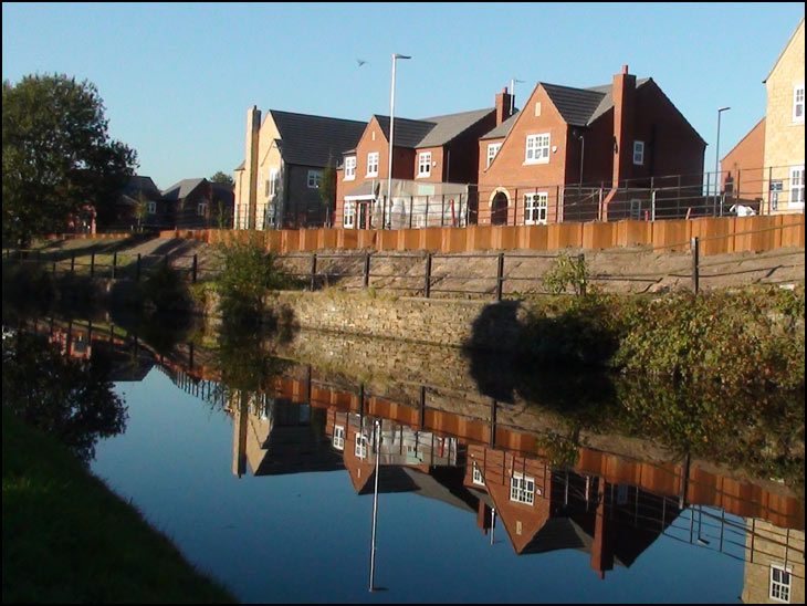 New Canal side houses