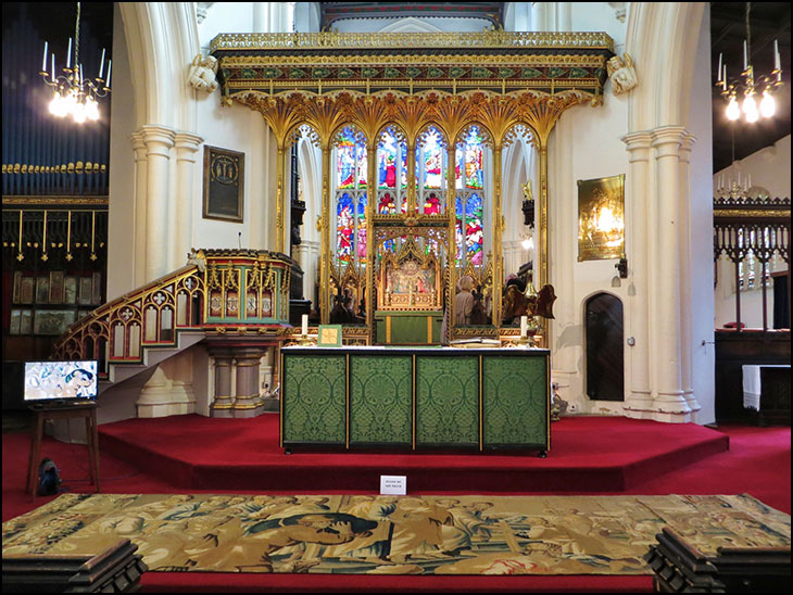 Altar and Mortlake Tapestry