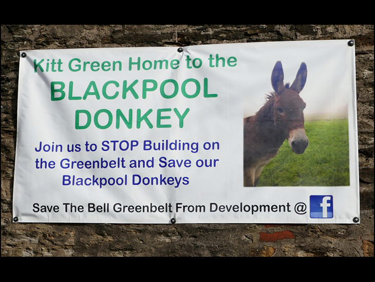 Home of the Blackpool Donkey