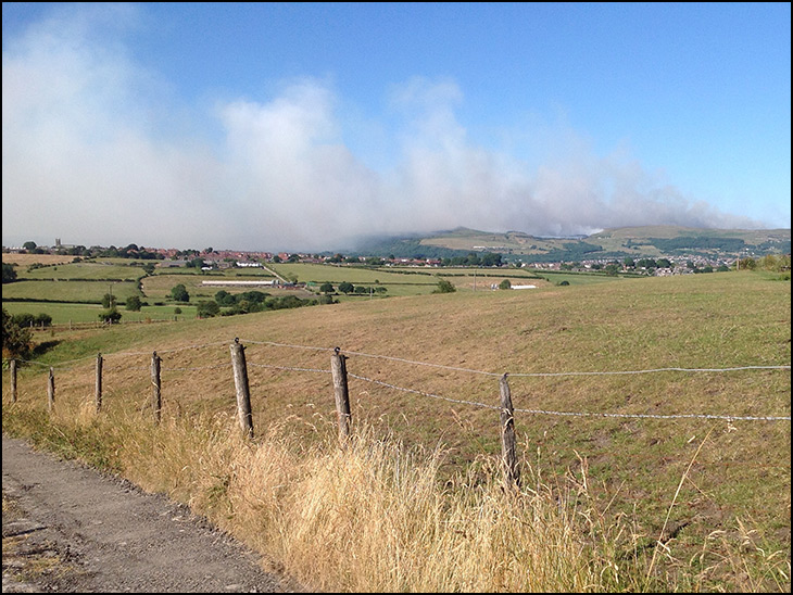 Smoke over Blackrod