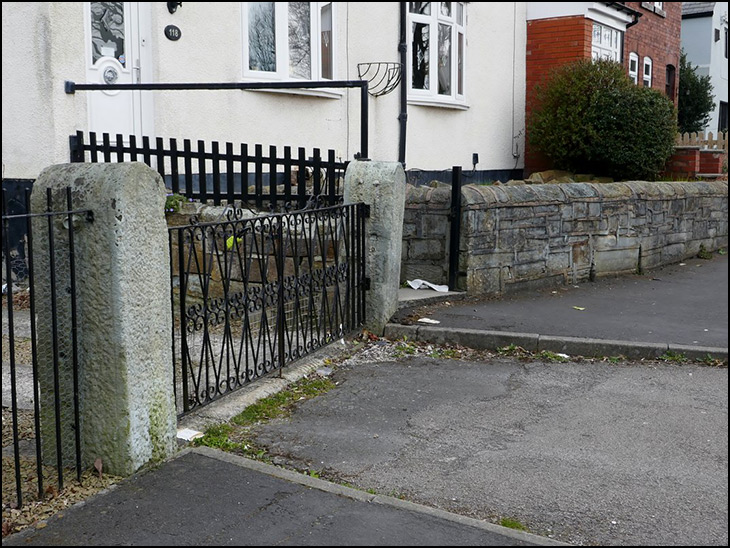 Old Gateposts