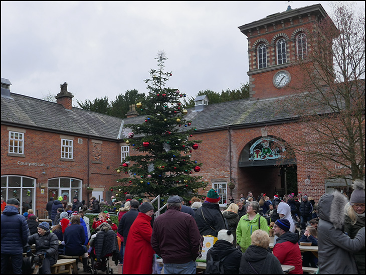 Christmas Tree, The Stables