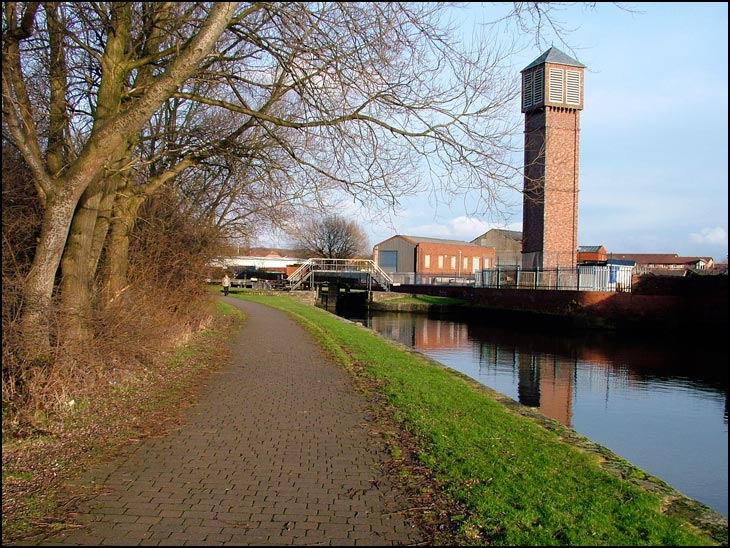 The Canal in Ince