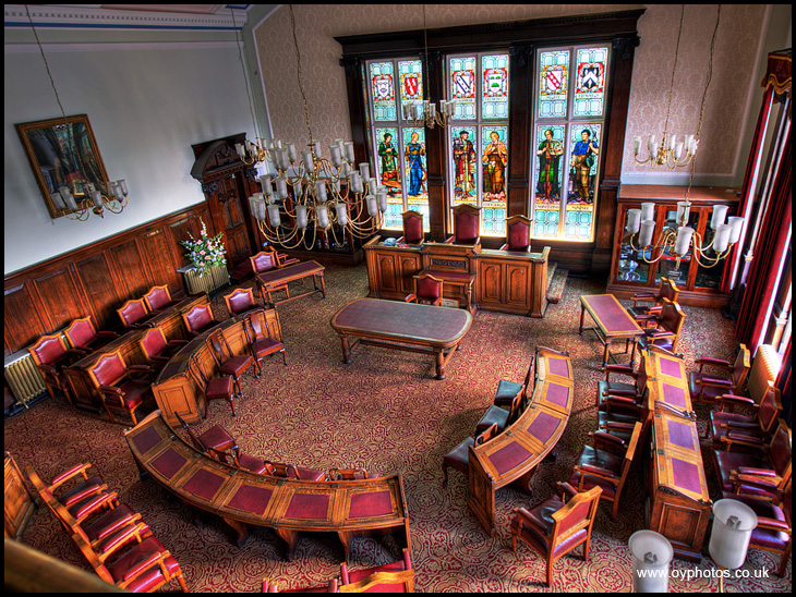 Leigh Council Chamber