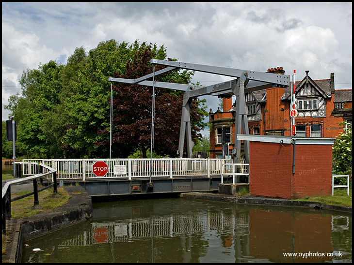 Plank Lane Swing Bridge