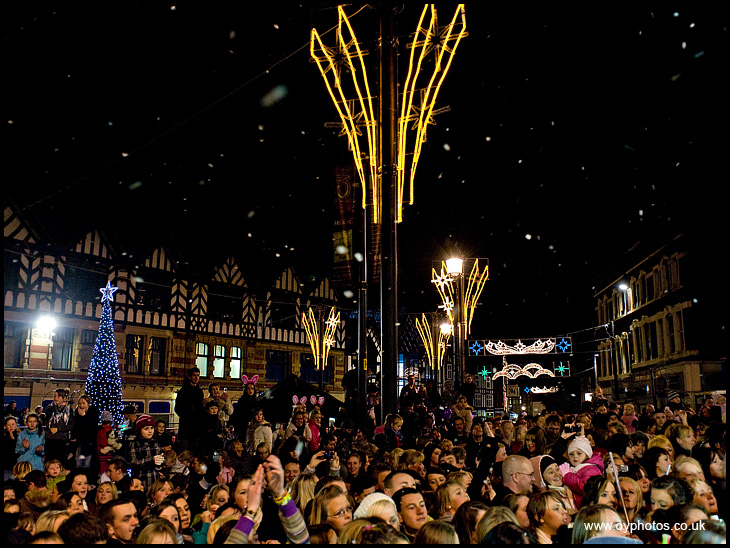 Wigan Switches On