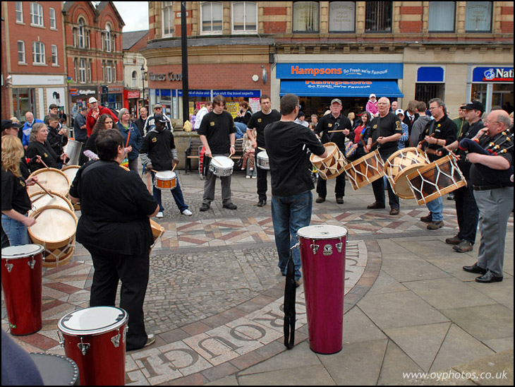Market place drumming