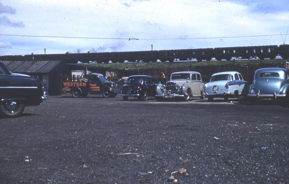 Western Yard in the late 1950's