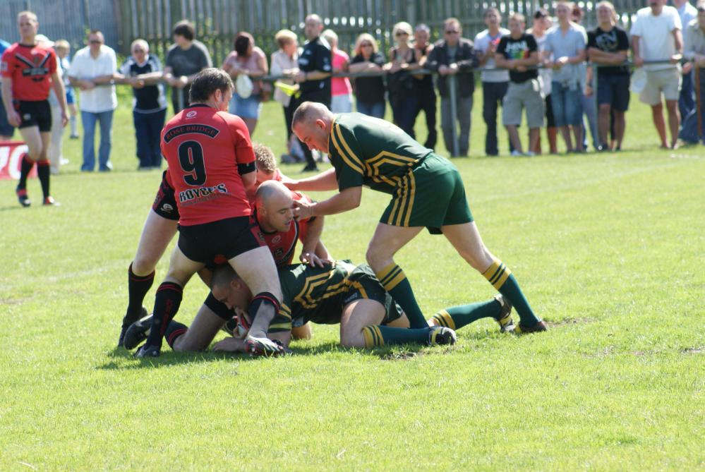St cuthberts vs Ince Rosebridge action