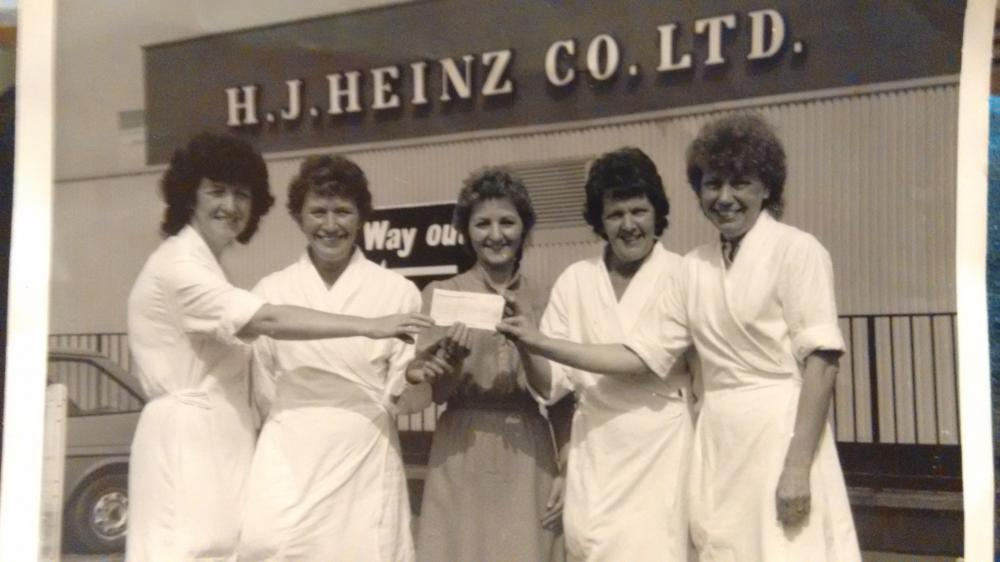 My nan and friends at Heinz