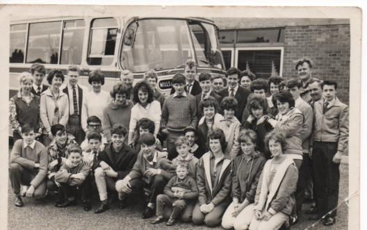 SCHOOL TRIP TO EUROPE - YOUTH HOSTELS - 1963