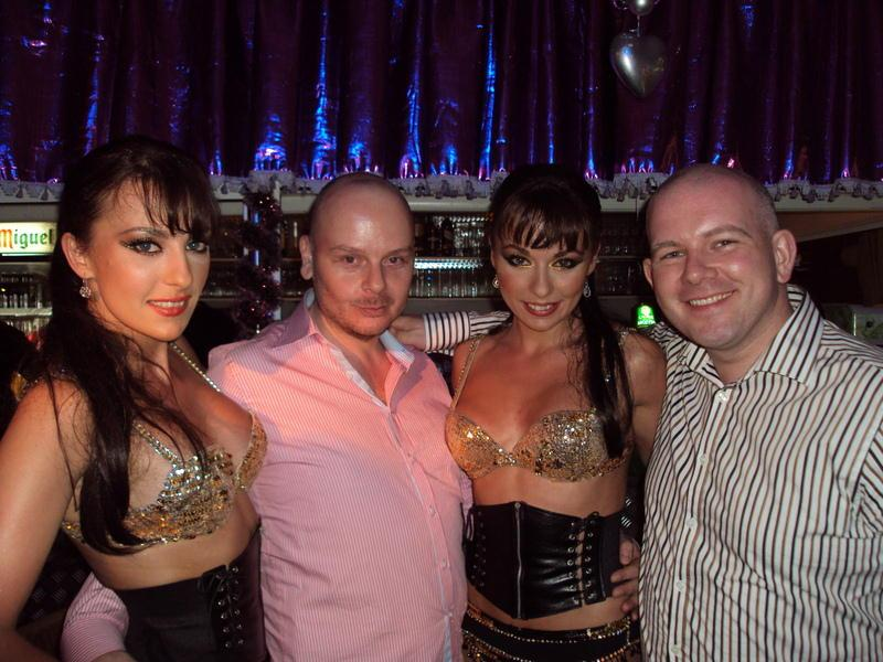 Mark Edward & The Cheeky Girls