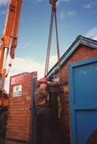 Borehole pump removal