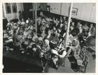 Wigan Choral Society practice in the 70s