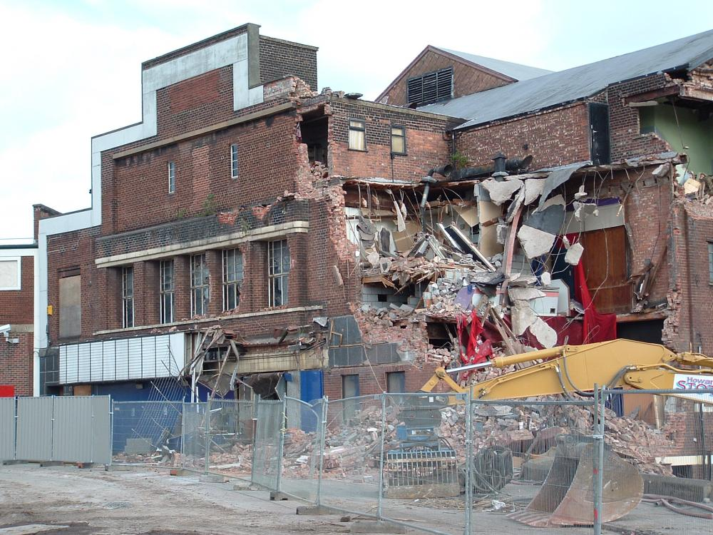 ritz cinema demolished