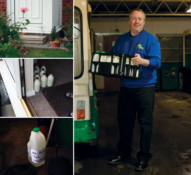 Ian Kay - the winner of a competition Milkman of the year 2009 in the UK / 2012